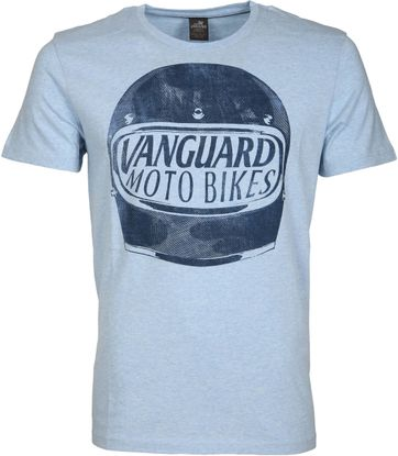 Vanguard T-shirt Motor Jersey Blue