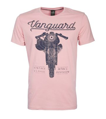 Vanguard T-shirt Motor Print Roze