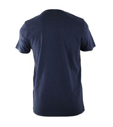 Detail Vanguard T-shirt Salt Flats Donkerblauw