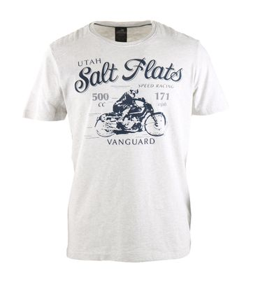 Vanguard T-shirt Salt Flats Grijs