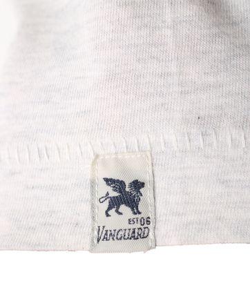 Detail Vanguard T-shirt Salt Flats Grijs