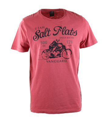 Vanguard T-shirt Salt Flats Rood