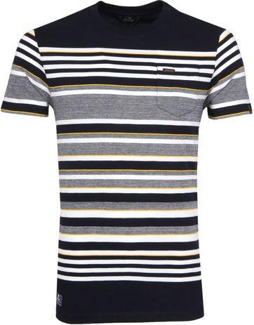 Vanguard T-shirt Stripe Navy