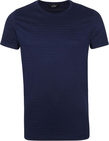 Vanguard T-shirt Stripes Navy