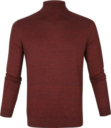 Vanguard Turtleneck Burgundy
