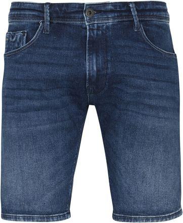 Vanguard V18 Rider Jeans Shorts Mid Blue