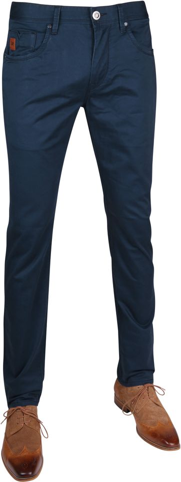 Vanguard V7 Broek Satin Navy
