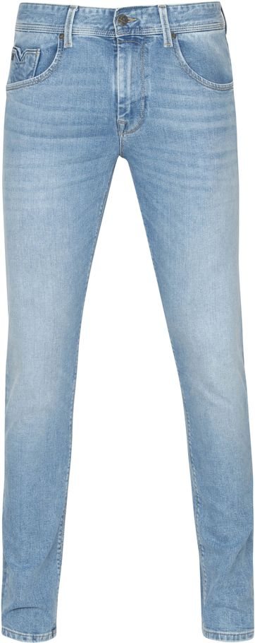 Vanguard V7 Rider Jeans Light Wash Blau