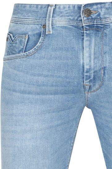 Vanguard V7 Rider Jeans Light Wash Blau