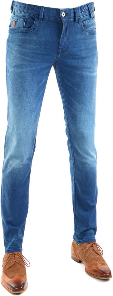Vanguard V8 Racer Jeans Bright Blue