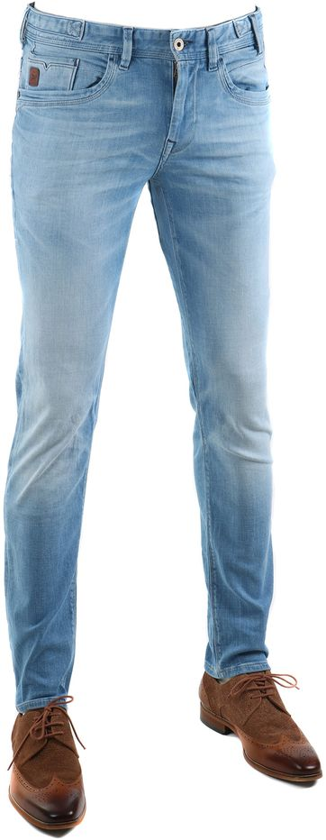 Vanguard V8 Racer Jeans Electric Blue