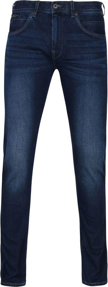 Vanguard V850 Rider Jeans Stretch Denim Blau