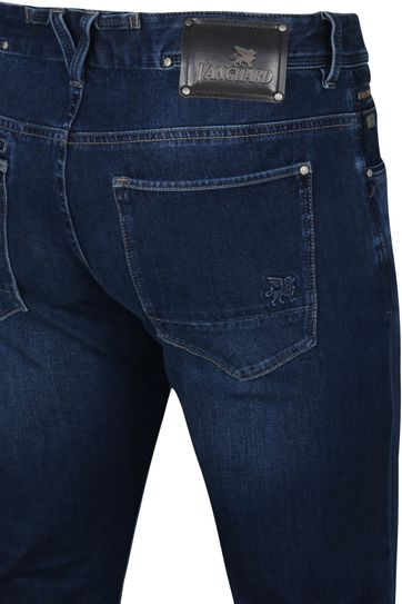 Vanguard V850 Rider Jeans Stretch Denim Blau