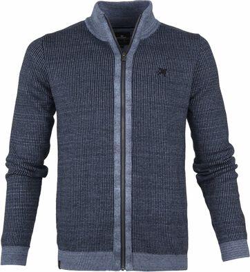 Vanguard Vest Rits Blauw