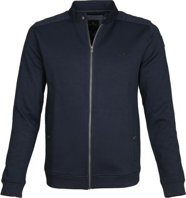 Vanguard Vest Rits Donkerblauw