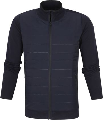 Vanguard VKC212354 Zip Cardigan Dark Blue