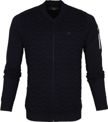 Vanguard Zip Bomber Navy