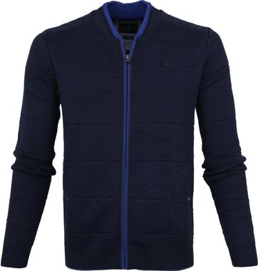 Vanguard Zip Jacke Navy