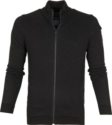 Vanguard Zip Jacket Black