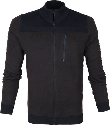 Vanguard Zip Jacket Dunkelblau