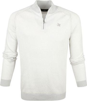 Vanguard Zip Pullover Beige