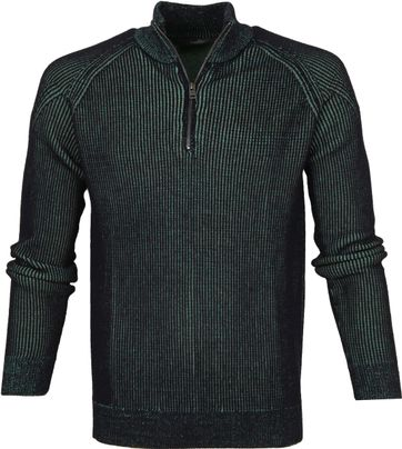 Vanguard Zip Pullover Dark Green