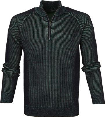 Vanguard Zip Pullover Dunkelgrün