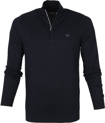 Vanguard Zip Pullover Navy
