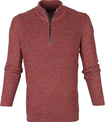 Vanguard Zip Pullover Red