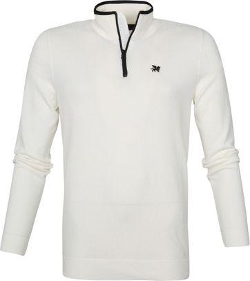Vanguard Zip Pullover Weiß