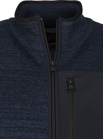 Vanguard Zip Vest Salute Donkerblauw