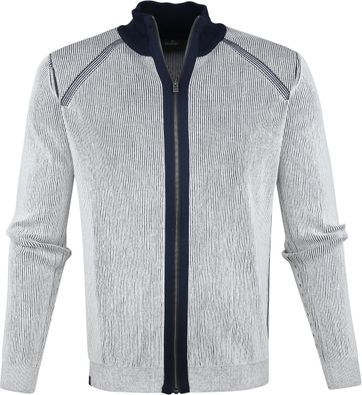 Vanguard Zip Vest Wit Strepen