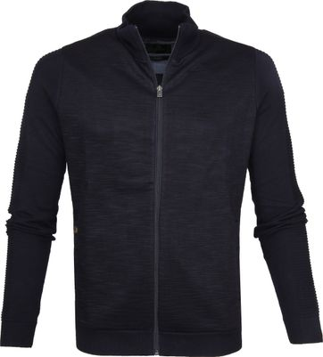 Vanguard Zipper Cotton Navy