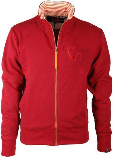 VanOrange Cardigan VO Dark Red 01