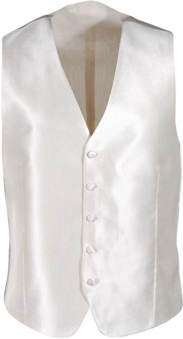 Wedding Waistcoat Ecru Twill