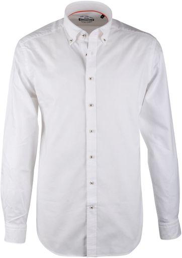 Weiß Casual Hemd Suitable