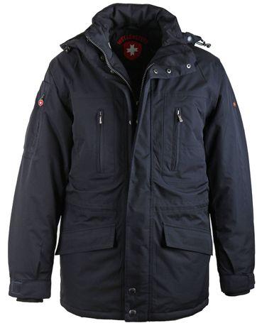 Moderne Winterjas.Wellensteyn Golf Winterjas Donkerblauw Gjw 44 Db