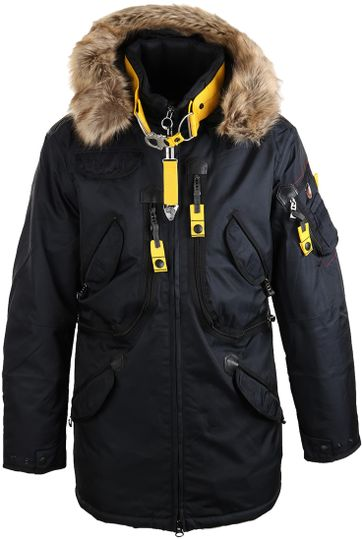 Wellensteyn Rescue Parka Winterjas Donkerblauw