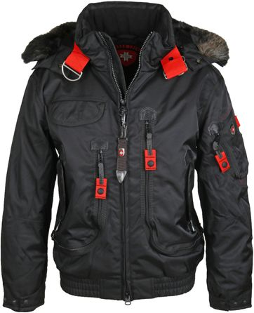 Wellensteyn Rescue Winterjas Zwart