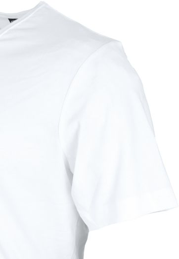 White T-shirt 6-Pack V-Neck