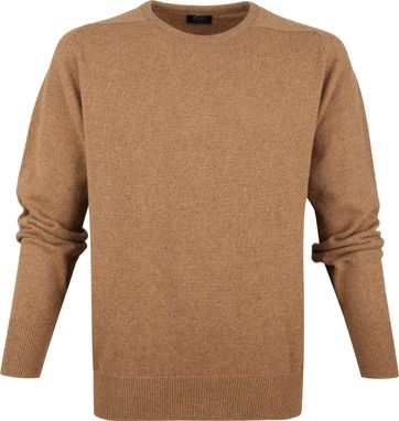 William Lockie Lambswool Camel