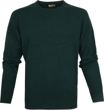 William Lockie Lambswool Groen