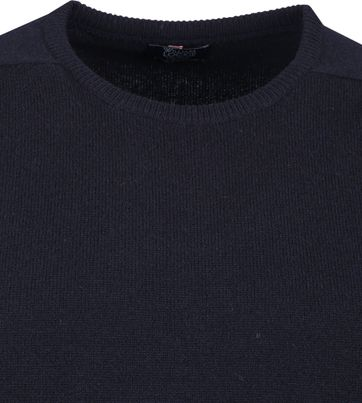 William Lockie Lambswool Navy