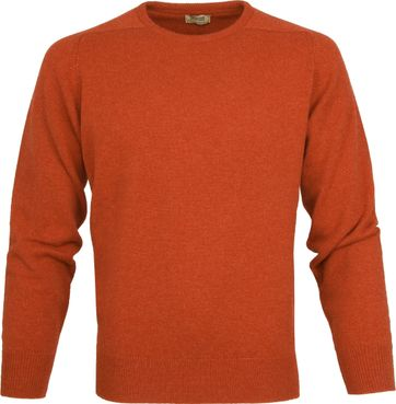 William Lockie Lambswool Orange