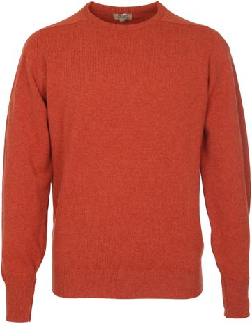 William Lockie Lambswool Oranje