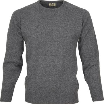 William Lockie O lambswool Grey