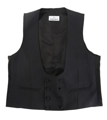 Wilvorst Waistcoat Black
