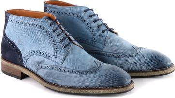Wingtip STBL Boot Jeans Blau
