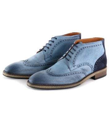 Wingtip STBL Boot Jeans Blauw