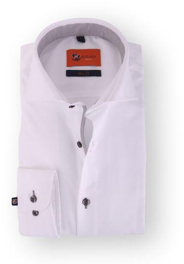 Wit Overhemd Slim Fit 113-01